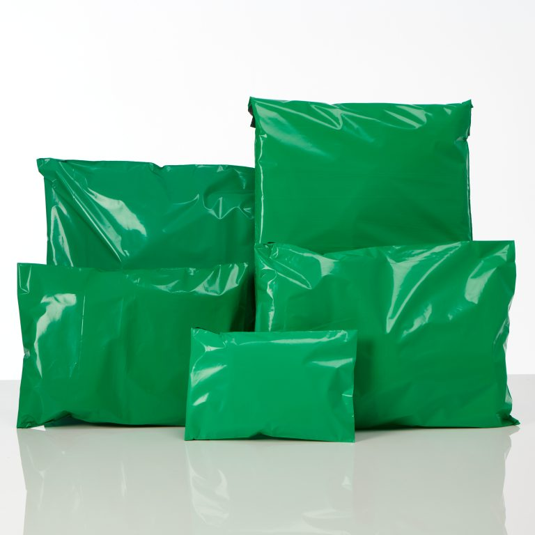 Green Polythene Mailing Bags Group Spectrum