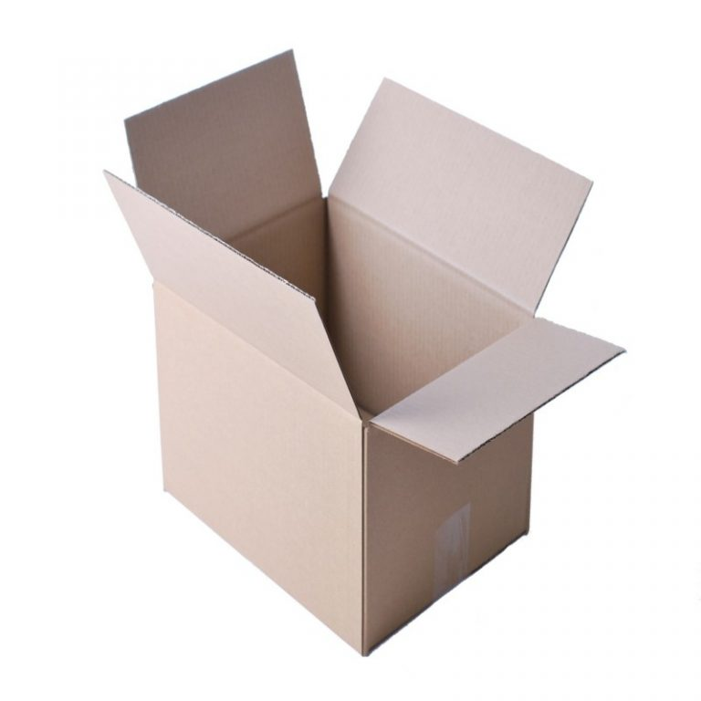 A4 Corrugated Single Wall Cardboard Box