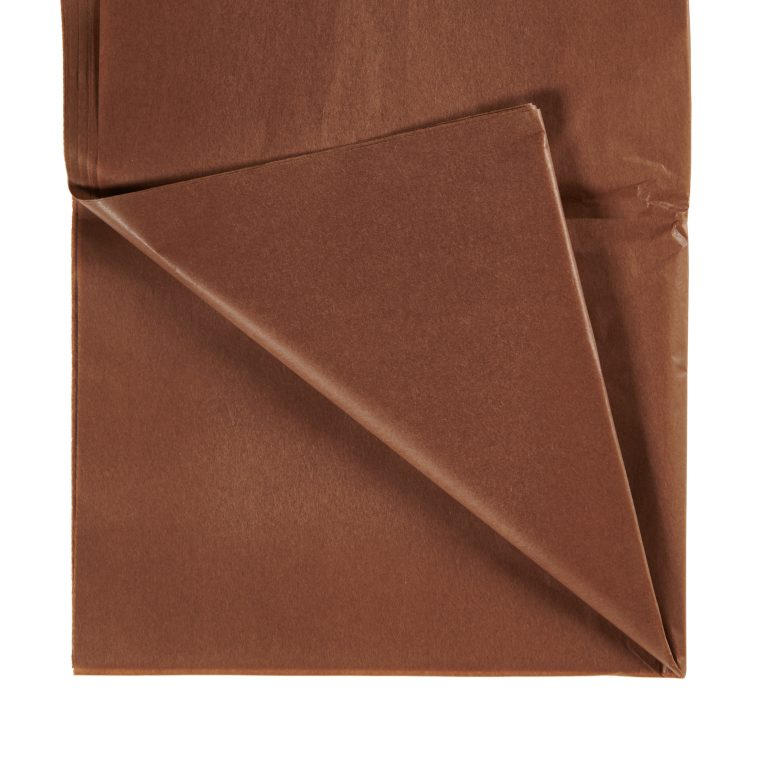 Chocolate Brown Tissue Paper