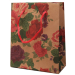 Printed Floral Gift Bag