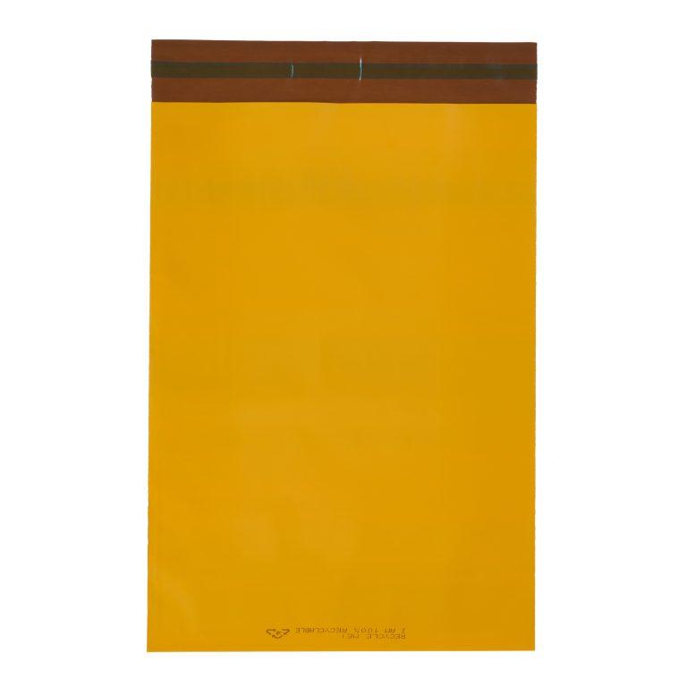 Orange Single Polythene Mailing Bag