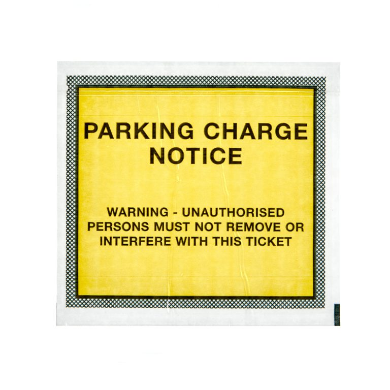 Parking Charge Notice Wallet