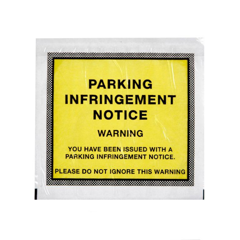 Parking Infringement Notice Wallet