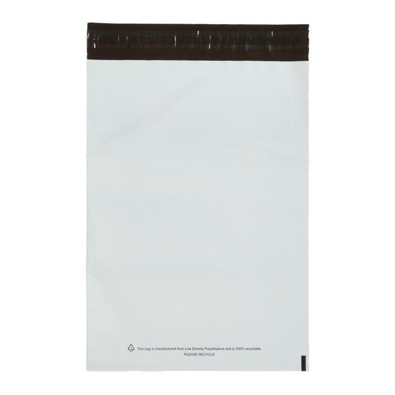 White Single Polythene Mailing Bag