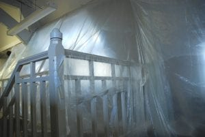 dust sheets for DIY and decorating