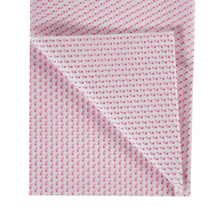 Pink Polka Dot Tissue Paper
