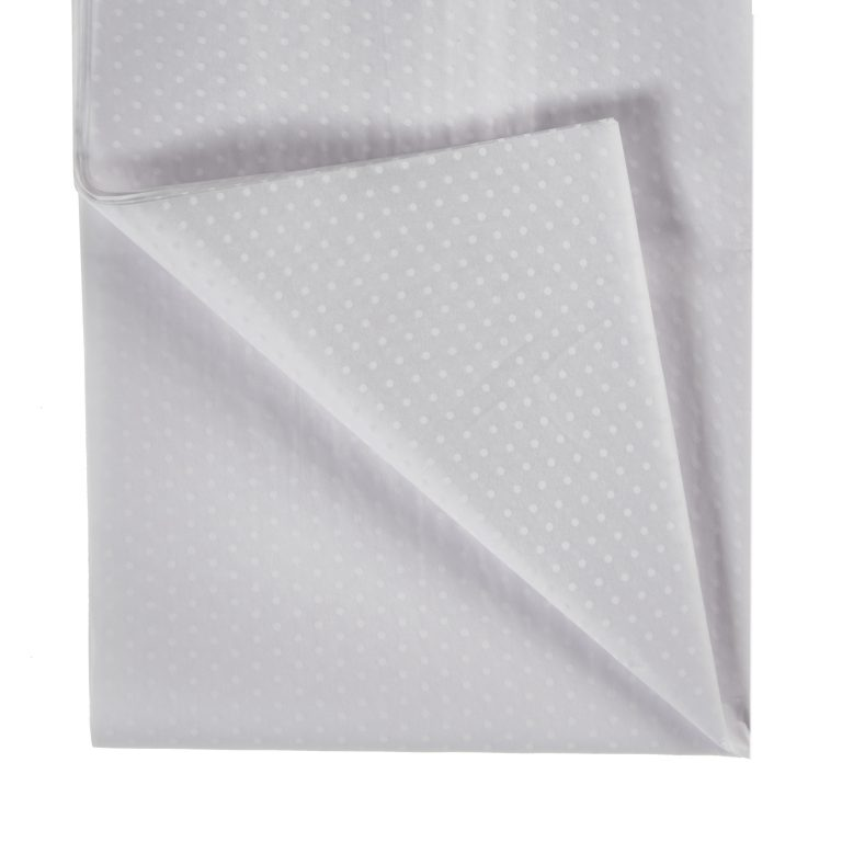 White Polka Dot Tissue Paper
