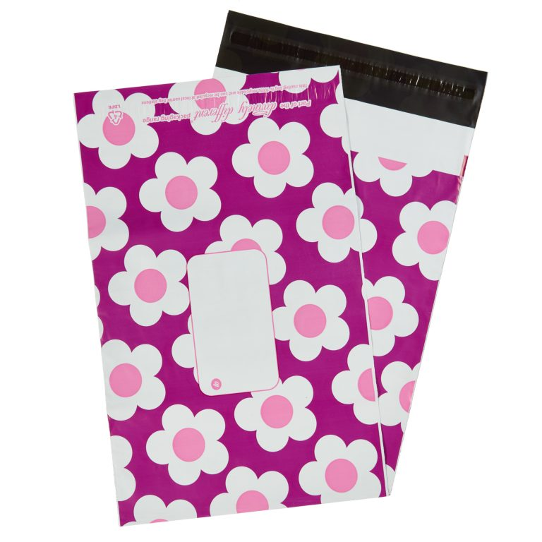 Berry Daisy Single Polythene Mailing Bag