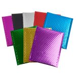 Metallic Padded Bubble Bags Group