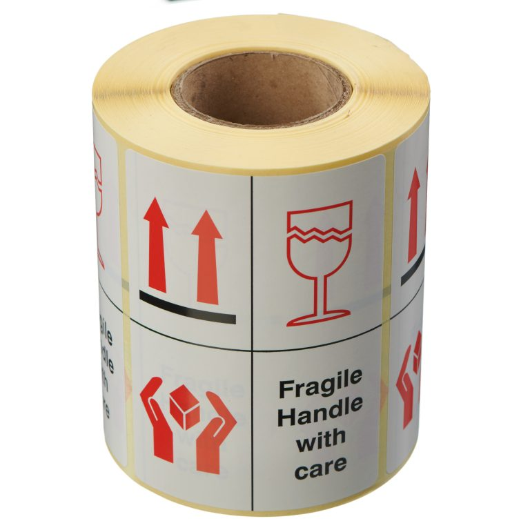 VL108FH - Fragile Handle With Care Labels