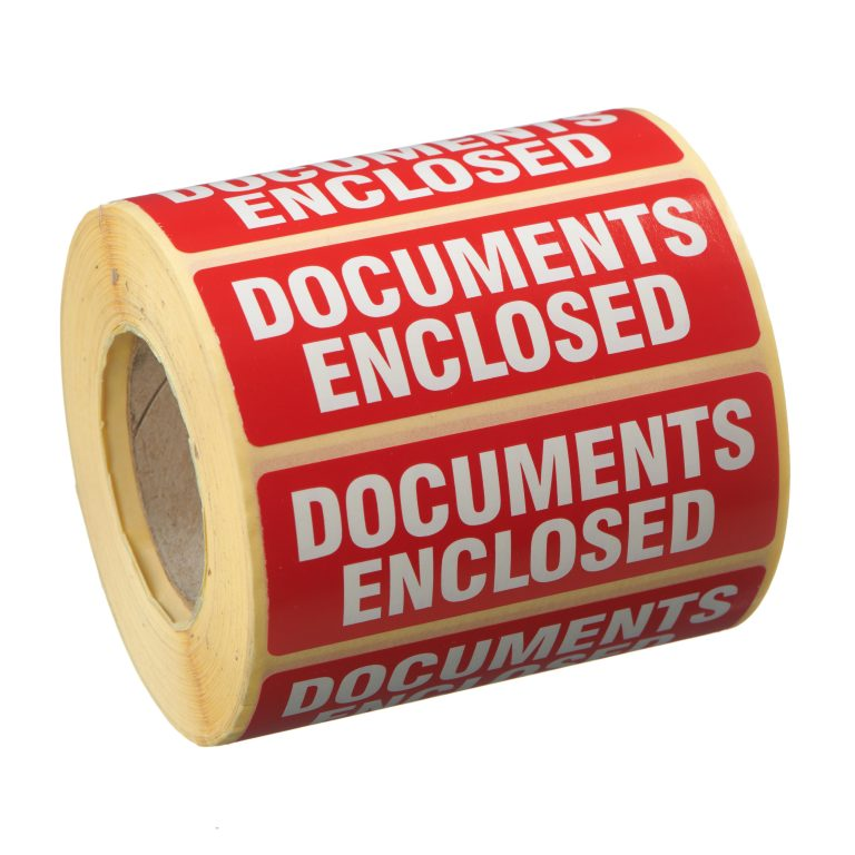 VL89DO - Documents Enclosed Labels