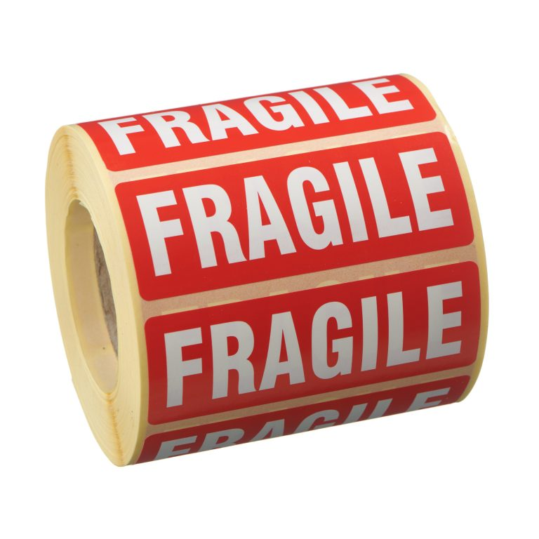 VL89FR - Fragile Labels