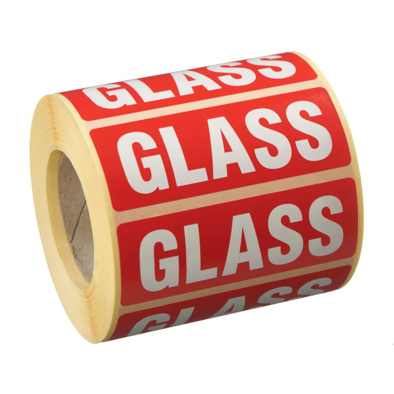 VL89GL - Glass Labels