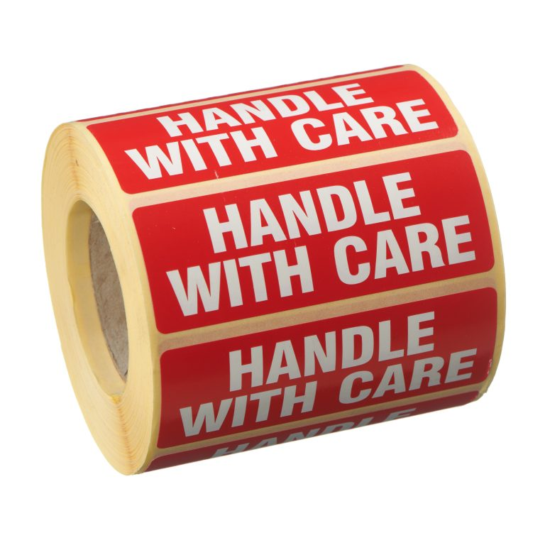 VL89HA - Handle With Care Labels