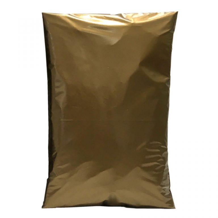 Gold Metallic Polythene Mailing Bags