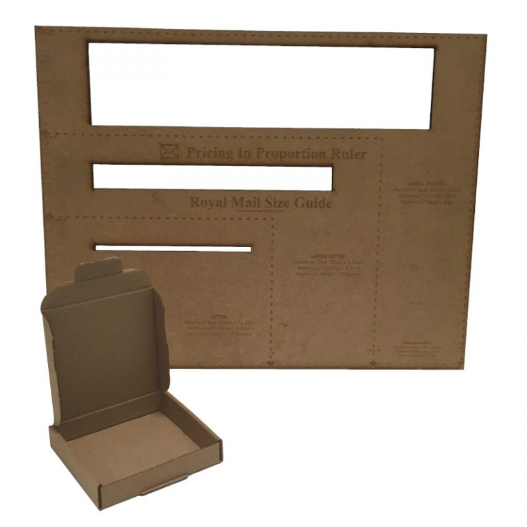 Mini Cardboard Royal Mail PIP Box