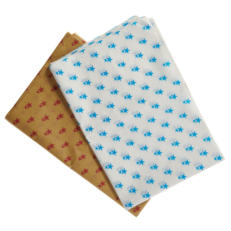 Printed Star Tissue Paper Group