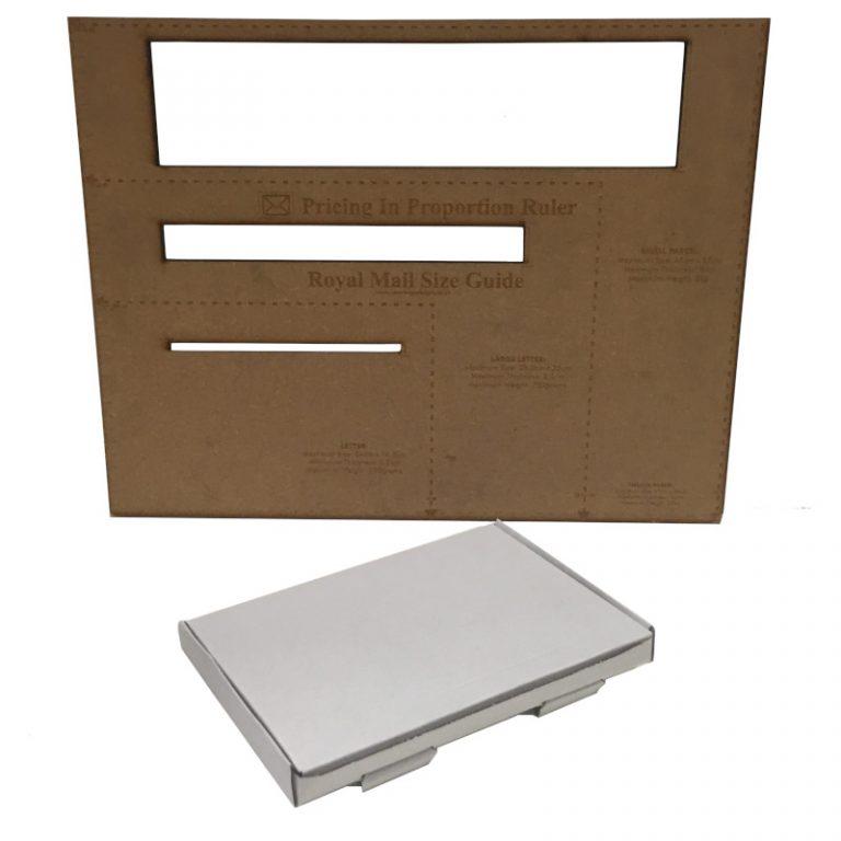 C5 White Cardboard PIP Box Royal M