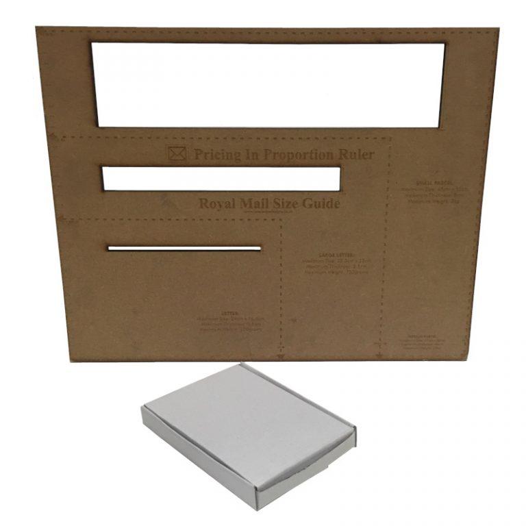C6 White Cardboard PIP Box Royal M