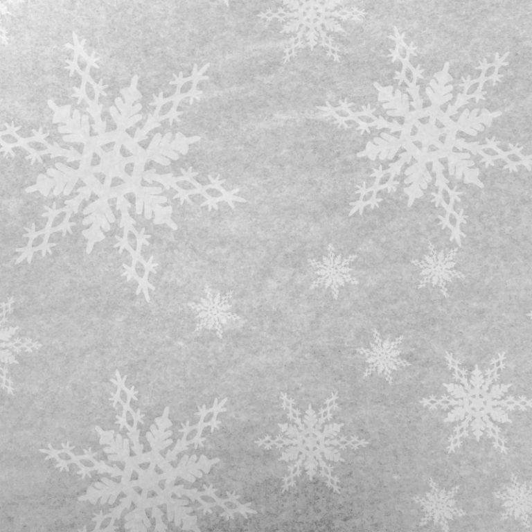 Christmas Printed Snowflake Tissue Paper