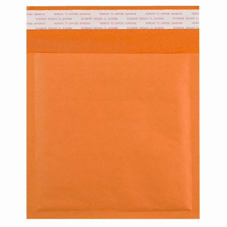 Coloured Orange Kraft Padded Envelope