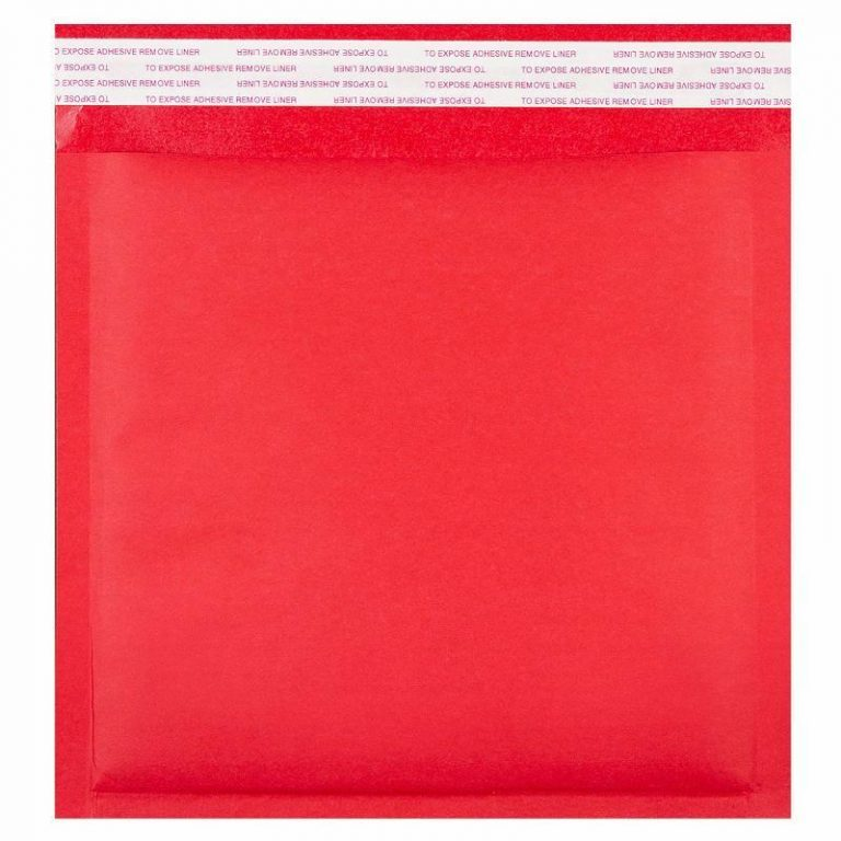 Coloured Red Kraft Padded Envelope