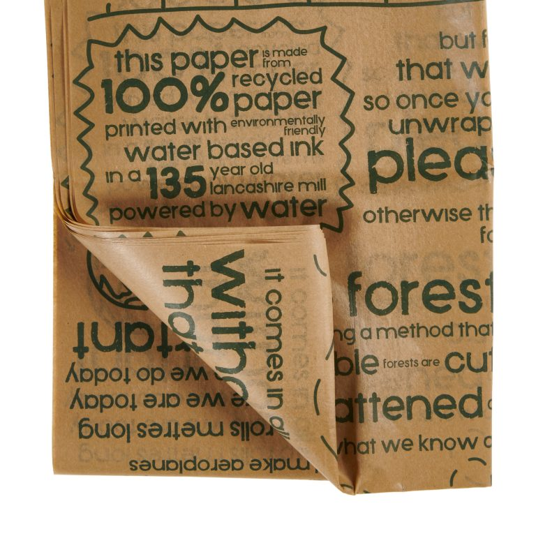 Printed Recycled Tissue Paper