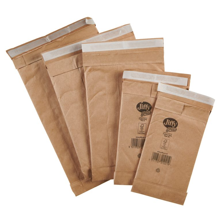 Jiffy Green Padded Bag Group