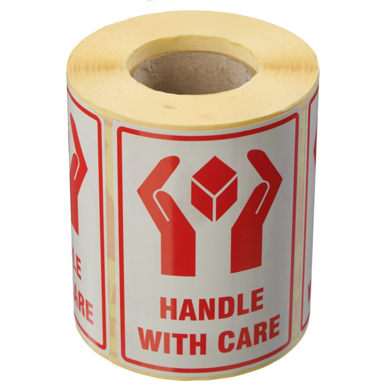 VL108HA - Handle With Care Labels