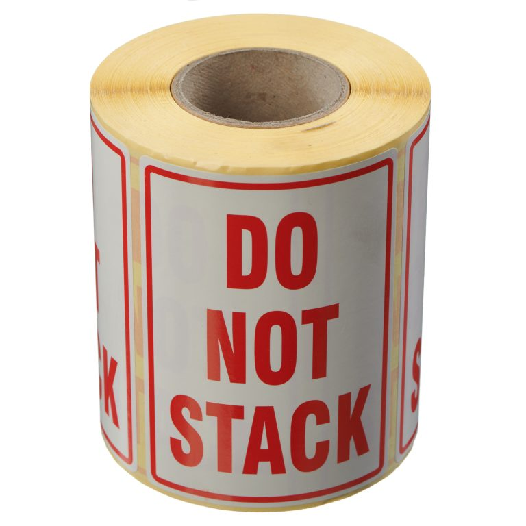 VL108ST - Do Not Stack Labels