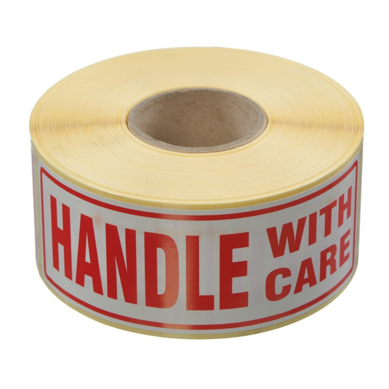 VL148HA - Handle With Care Labels