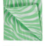Green Zebra Printed Tissue Paper