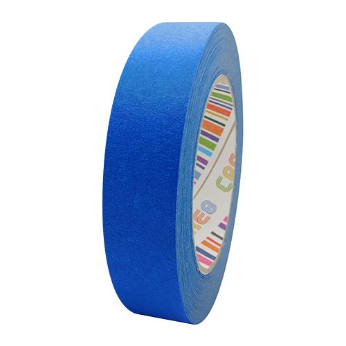 Coloured Paper Masking Tape - 24mm Blue