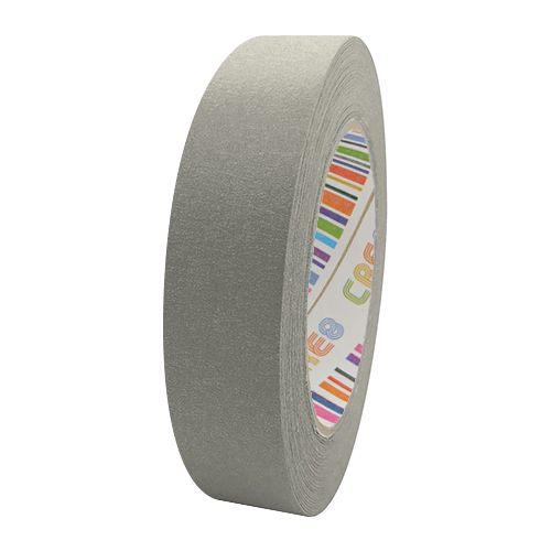 Coloured Paper Masking Tape - 24mm Grey