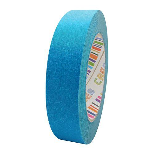 Coloured Paper Masking Tape - 24mm Light Blue