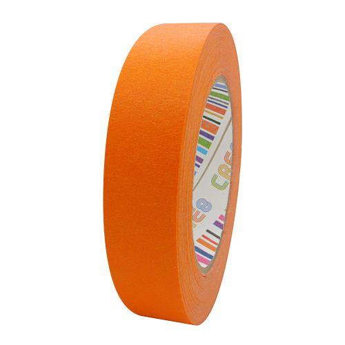 Coloured Paper Masking Tape - 24mm Orange