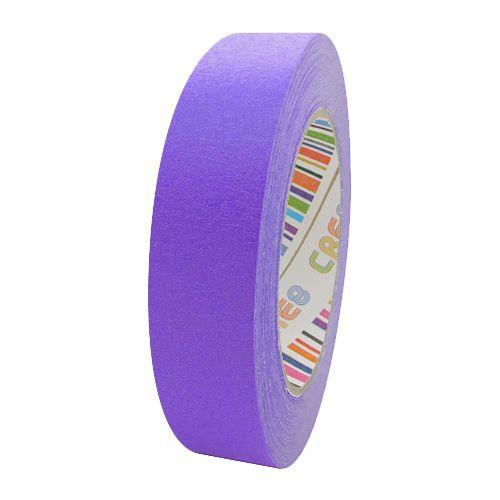Coloured Paper Masking Tape - 24mm Purple