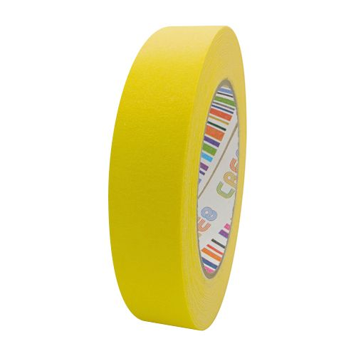 Coloured Paper Masking Tape - 24mm Yellow