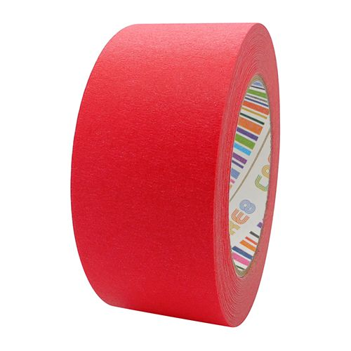 Coloured Paper Masking Tape - 48mm Red