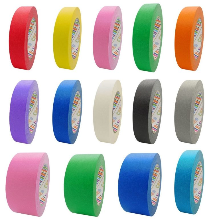 Coloured Paper Masking Tape Group