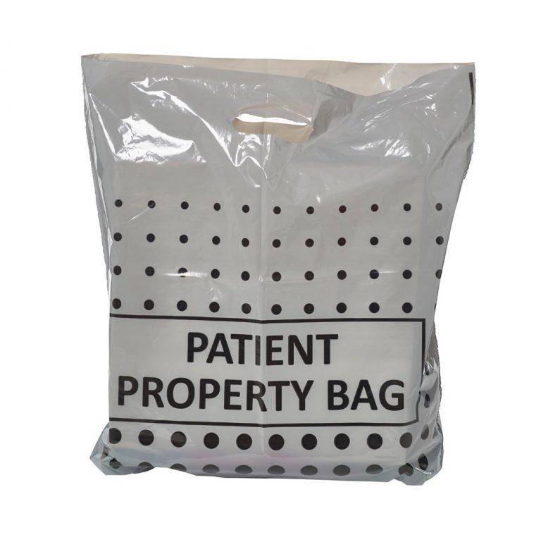 Grey Patient Property Carrier Bag